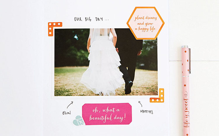 DIY Sticker Book: Scrapbooking