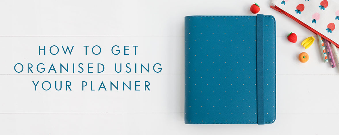 Get organised with your kikki.K Planner