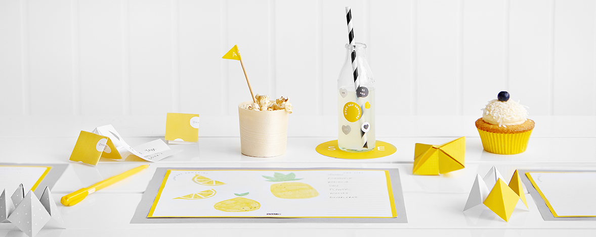 Hello Yellow Party Styling Ideas