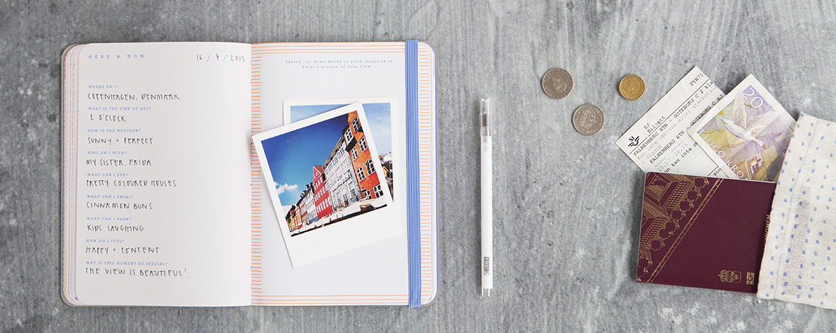 Plan your perfect trip with the kikki.K Travel Journal