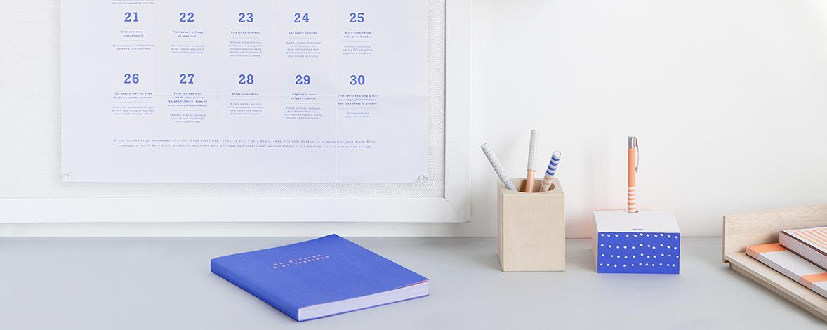 Go Offline & Be Inspired Journal - kikki.K Offline Challenges