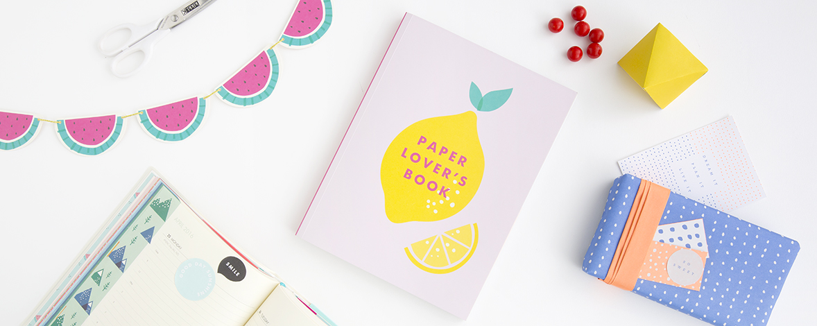 Get creative with our gorgeous Paper Lover's Book