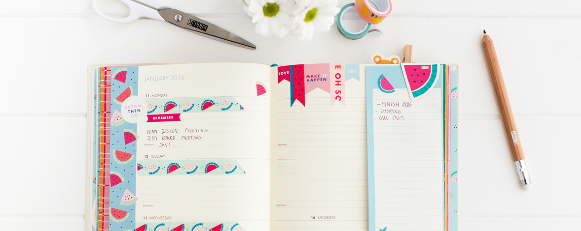 How to get organised with your kikki.K Cute Diary