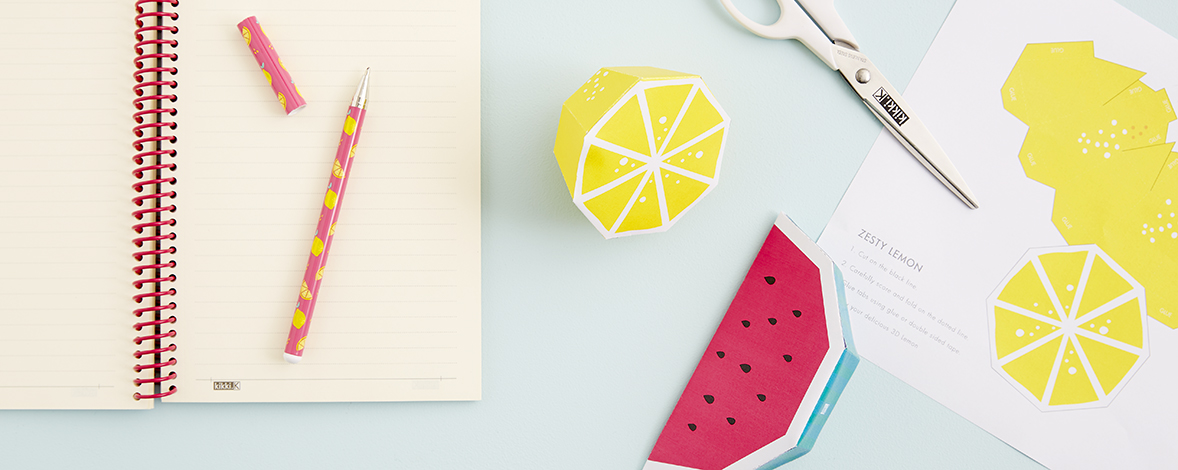 Create your own Paper Fruit