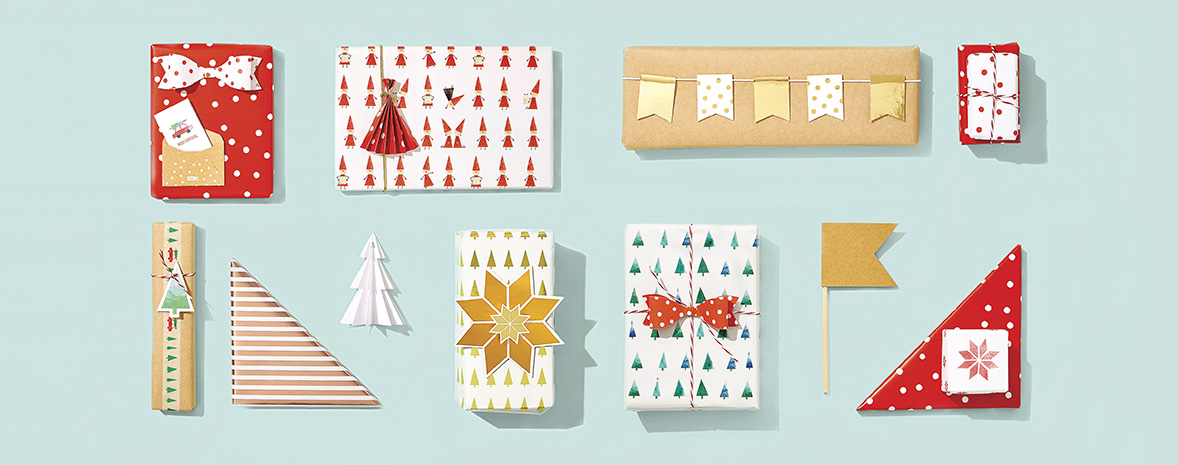Everything you Need to Wrap your Christmas Gifts