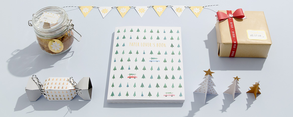 Get Creative with our Christmas Paper Book