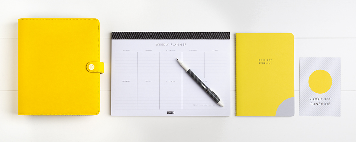 Say Hello to Yellow with our New Planner