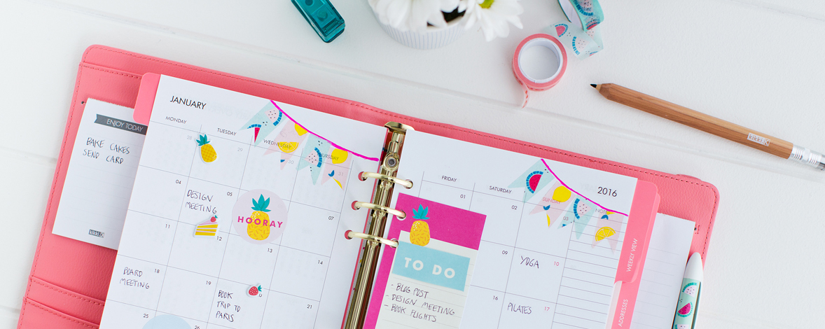 Decorate your Planner and Live What you Love