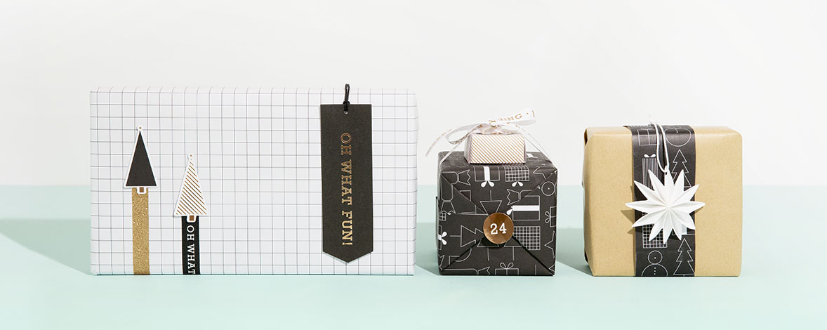 Gift wrapping ideas by kikki.K
