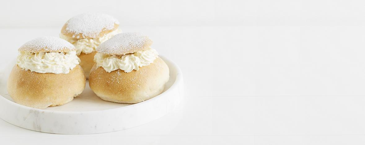 Make these traditional Swedish Semla Buns with this recipe