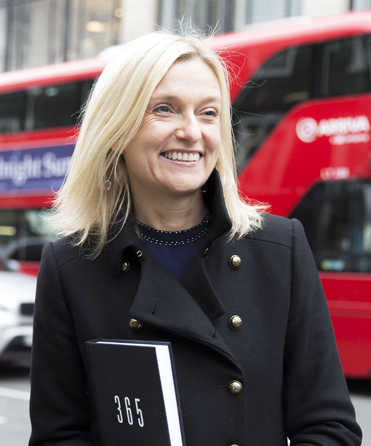 Kristina Karlsson in London