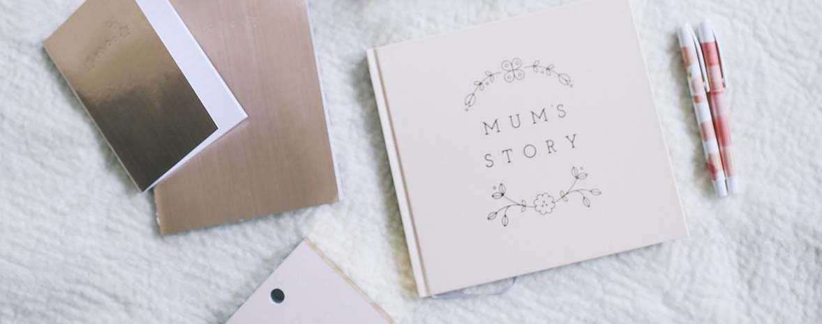 kikki.K Mum's Story Book styled by A Pair & A Spare