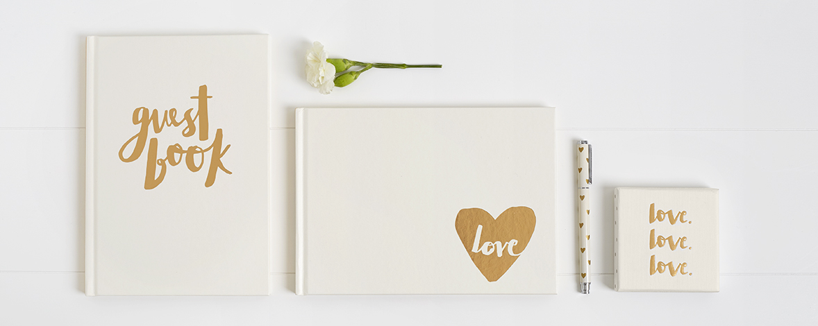 Be inspired with these special wedding guest book ideas