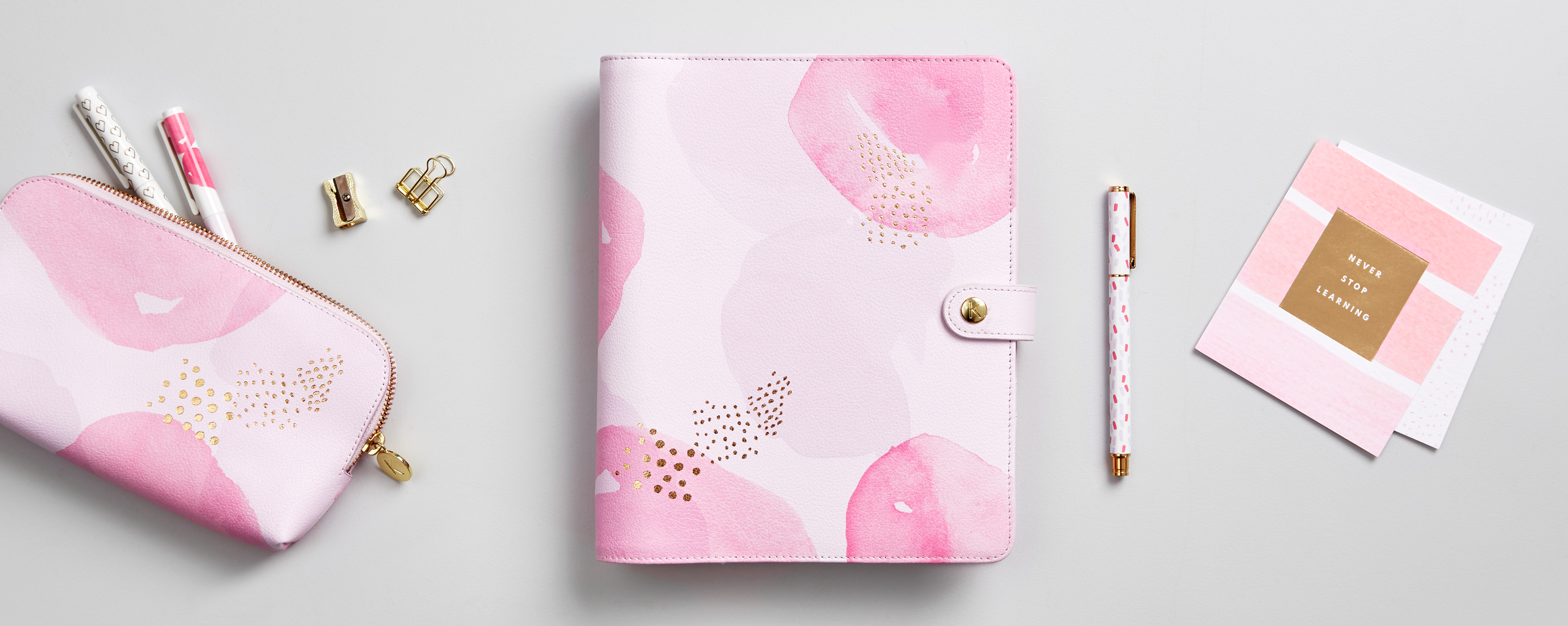Decorate your Pink Lavender Planner