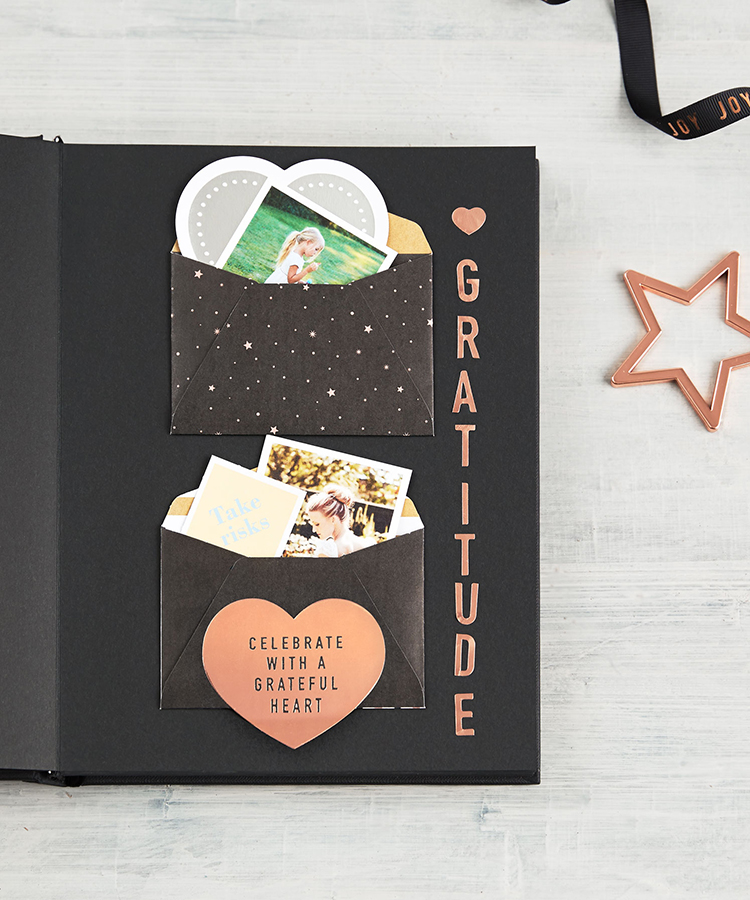 How to create a DIY Photo Album for Christmas