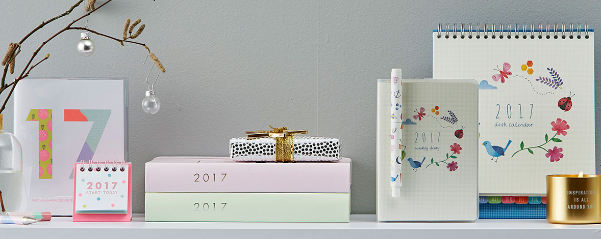 Get organised for 2017 with these tips