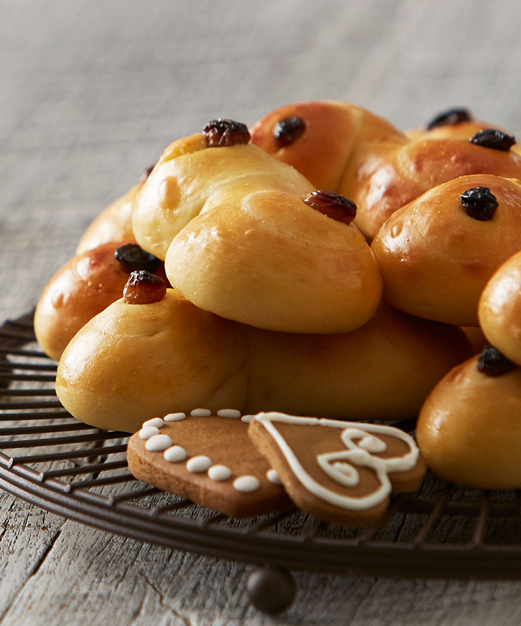 Celebrate Swedish St Lucia with this Saffron Bun recipe