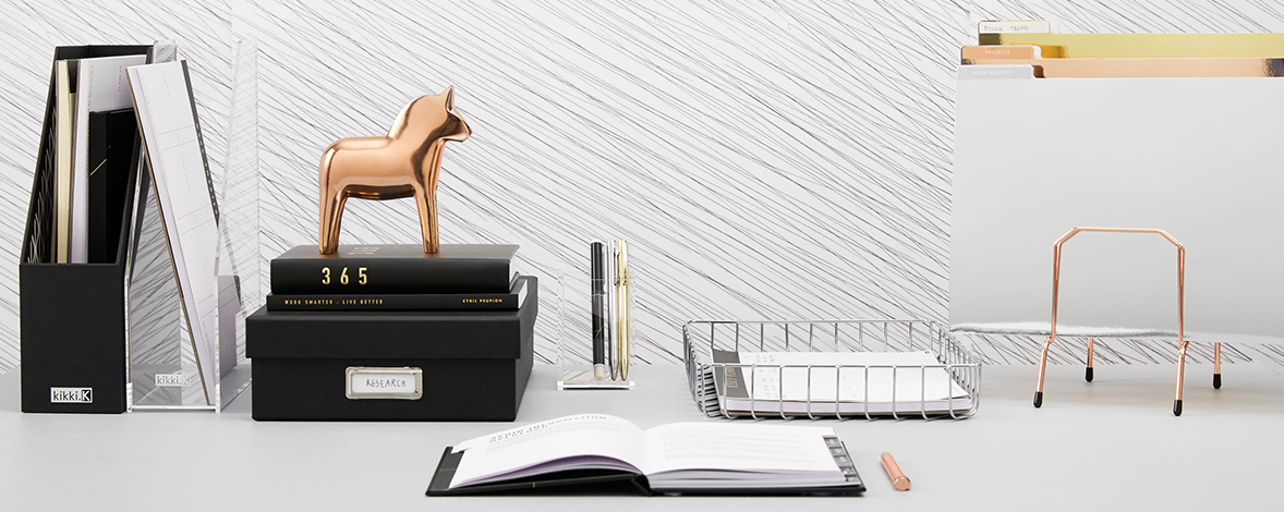 Be inspired to set up your desk with these tips