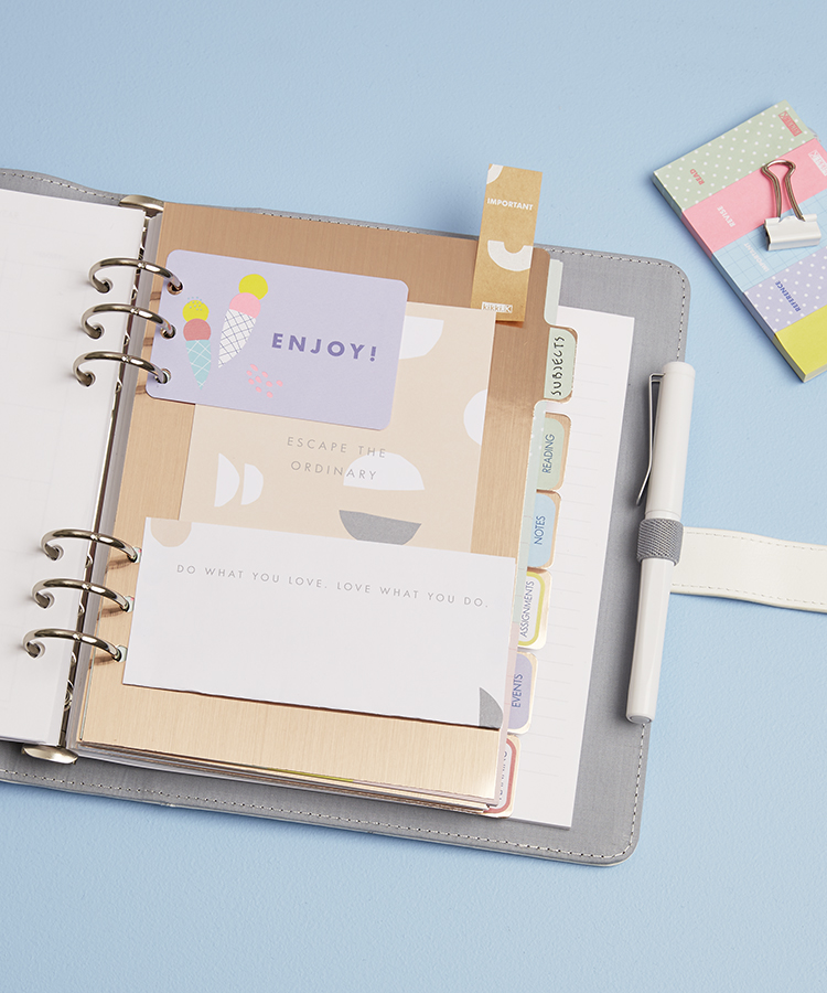 Study in style with these organisation tips