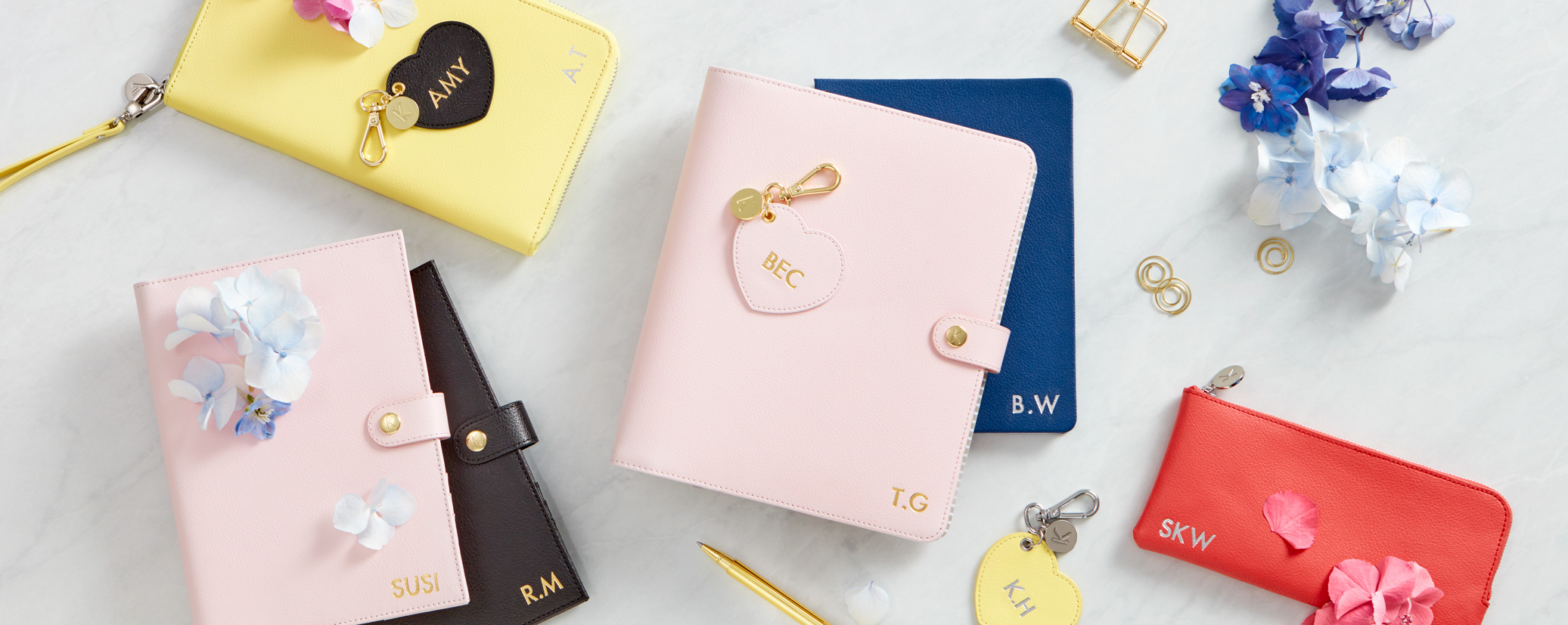 Monogramming collection