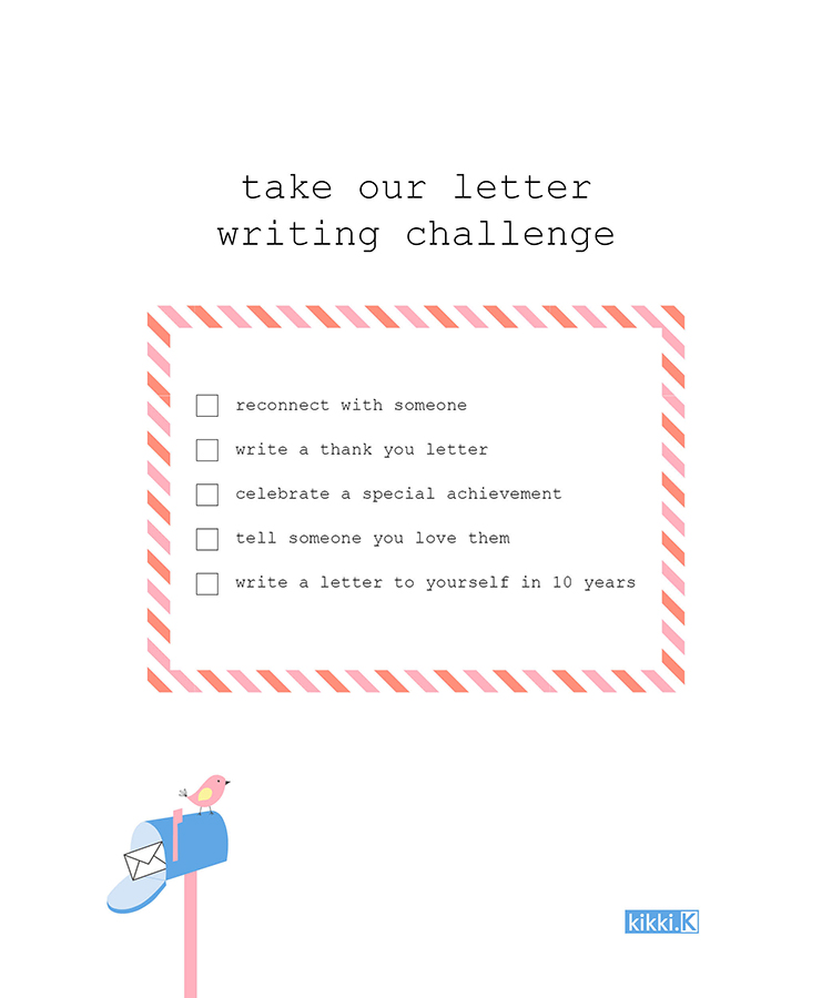 Take our Letter Writing Challenge