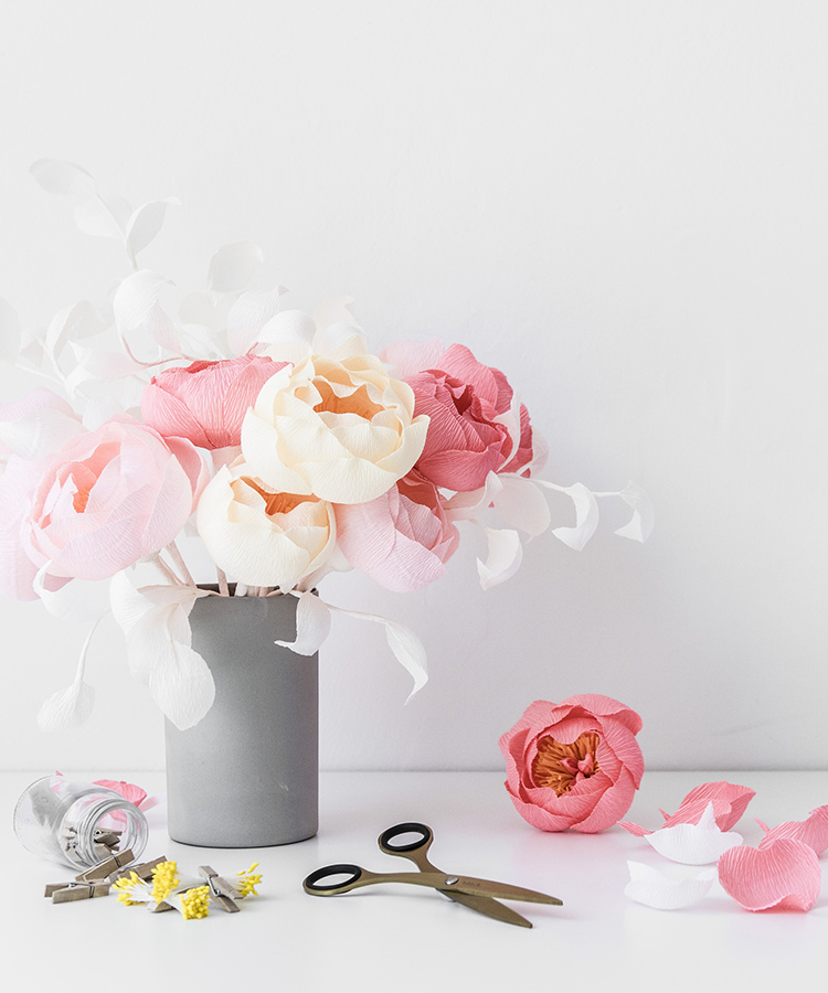 How to make a paper flower with papetal kikkik blog download your own paper flower template mightylinksfo