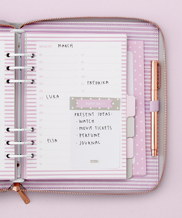 How to decorate your Oh So Lovely Planner