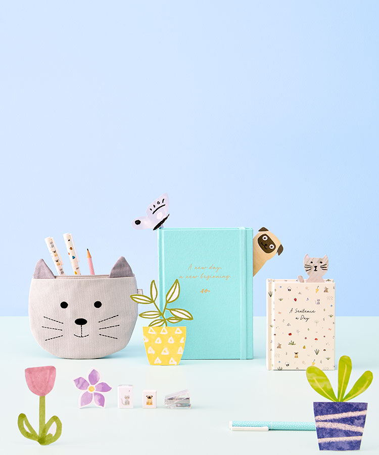 Discover the kikki.K Sweet Collection of stationery, notebooks and journals.