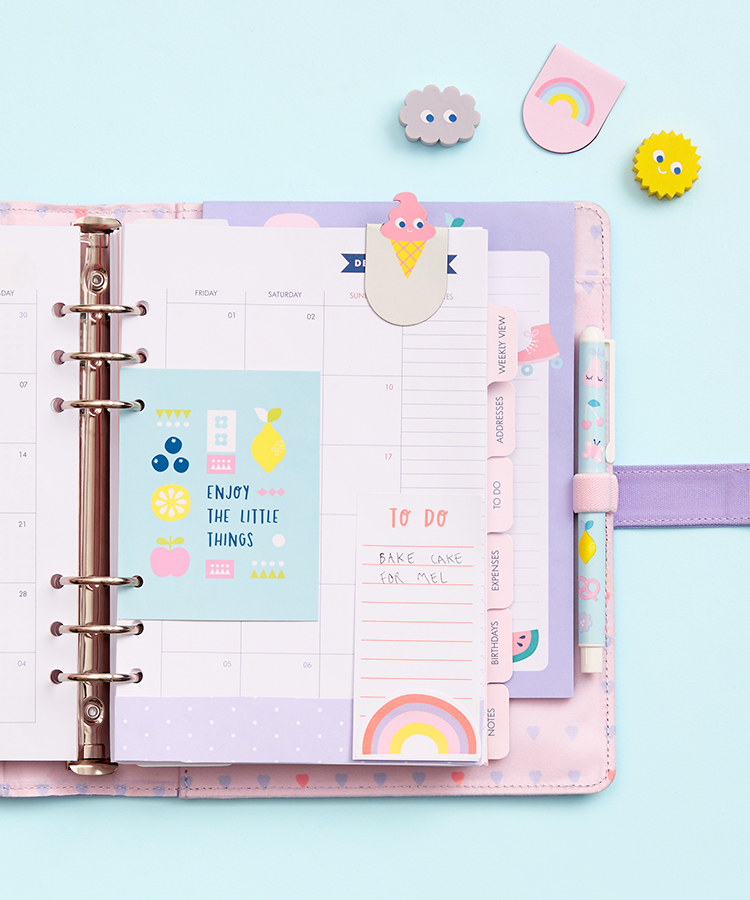 How to decorate your kikki.K cute planner