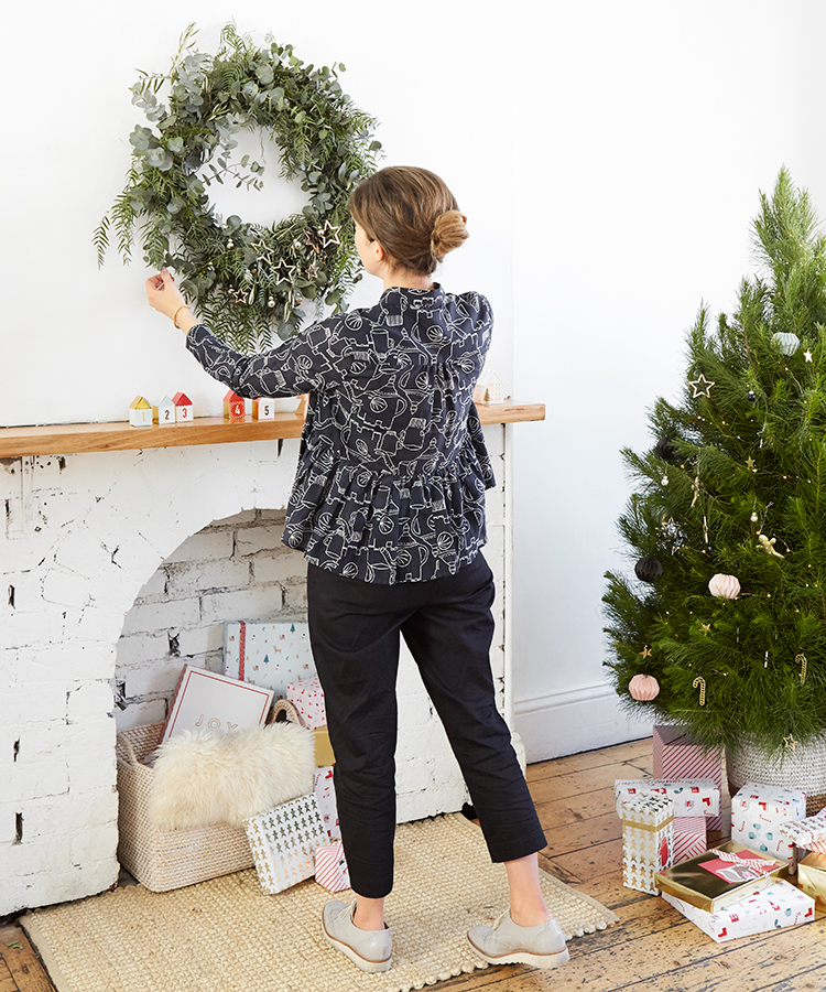 Discover how to make a Christmas wreath with The Design Files