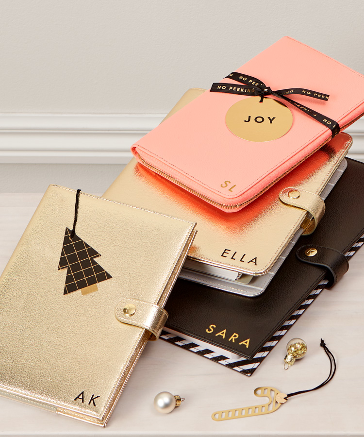 Treat someone special to a monogrammed notebook