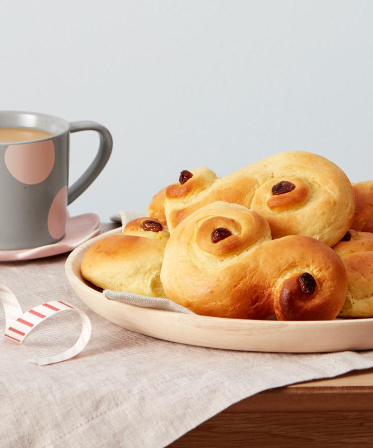 Celebrate Swedish Lucia with this saffron bun recipe