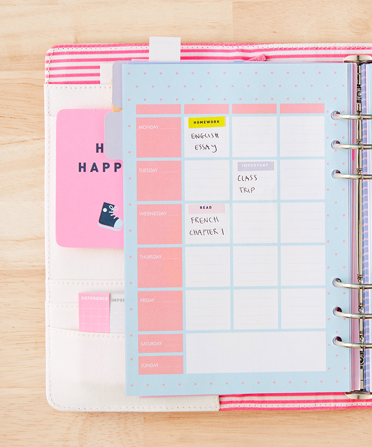 Back to school planner | Study tips