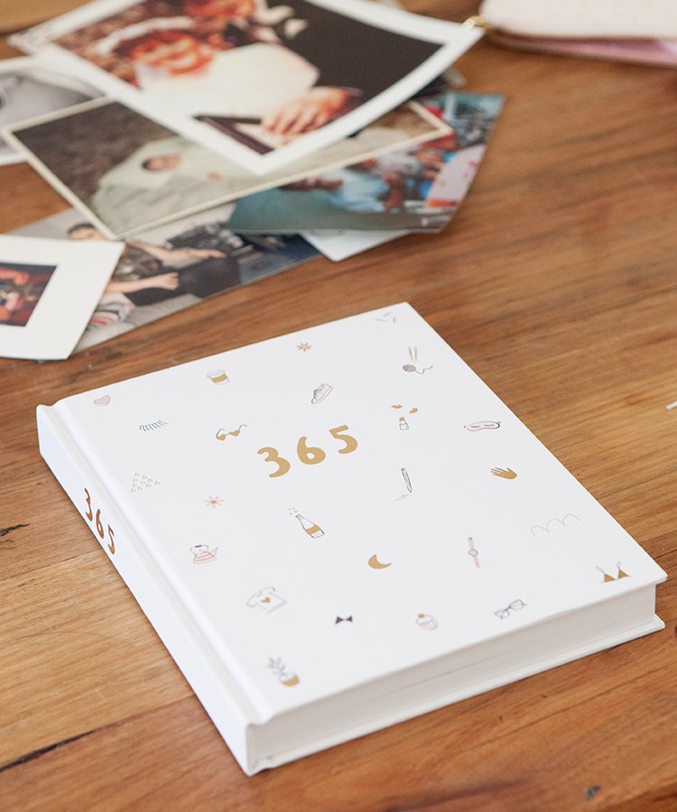365 Journal as a DIY Photo Album