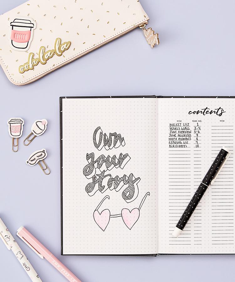 Bullet Journal Ideas | kikki.K