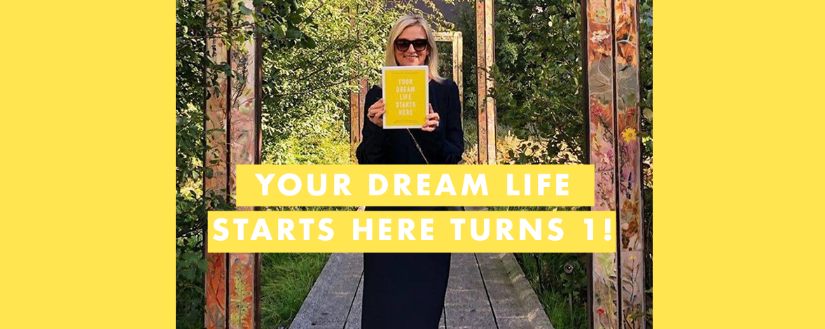 Your Dream Life Starts Here Turns One + Your Chance to WIN a Mentorship with Kristina