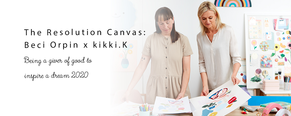 The Resolution Canvas: Beci Orpin x kikki.K + Your Chance to WIN