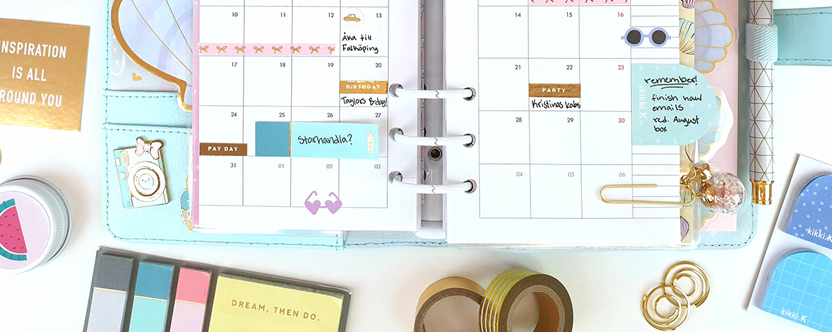 Inspiration From Our kikki.K Planner Community – Keep Planning and Stay Connected