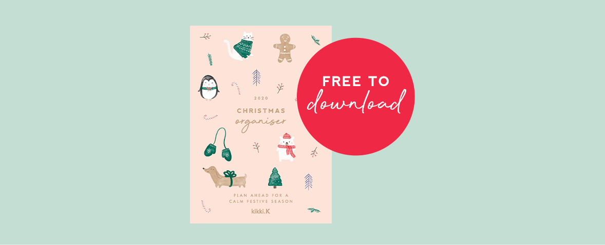 FREE Downloadable: Your 2020 Christmas Organiser is Here!